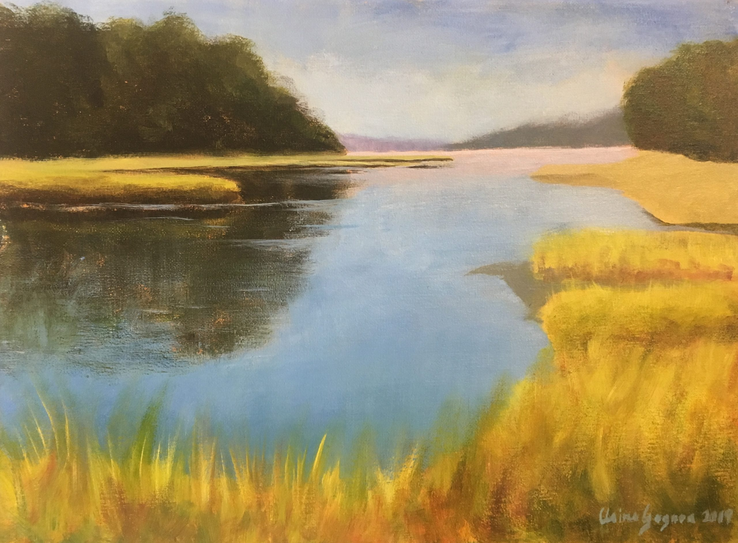Wispy Marshes Demo 12x16 2020